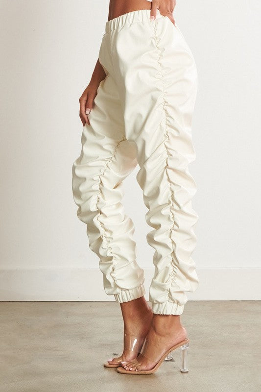 Cloud Nine Ruched Jogger