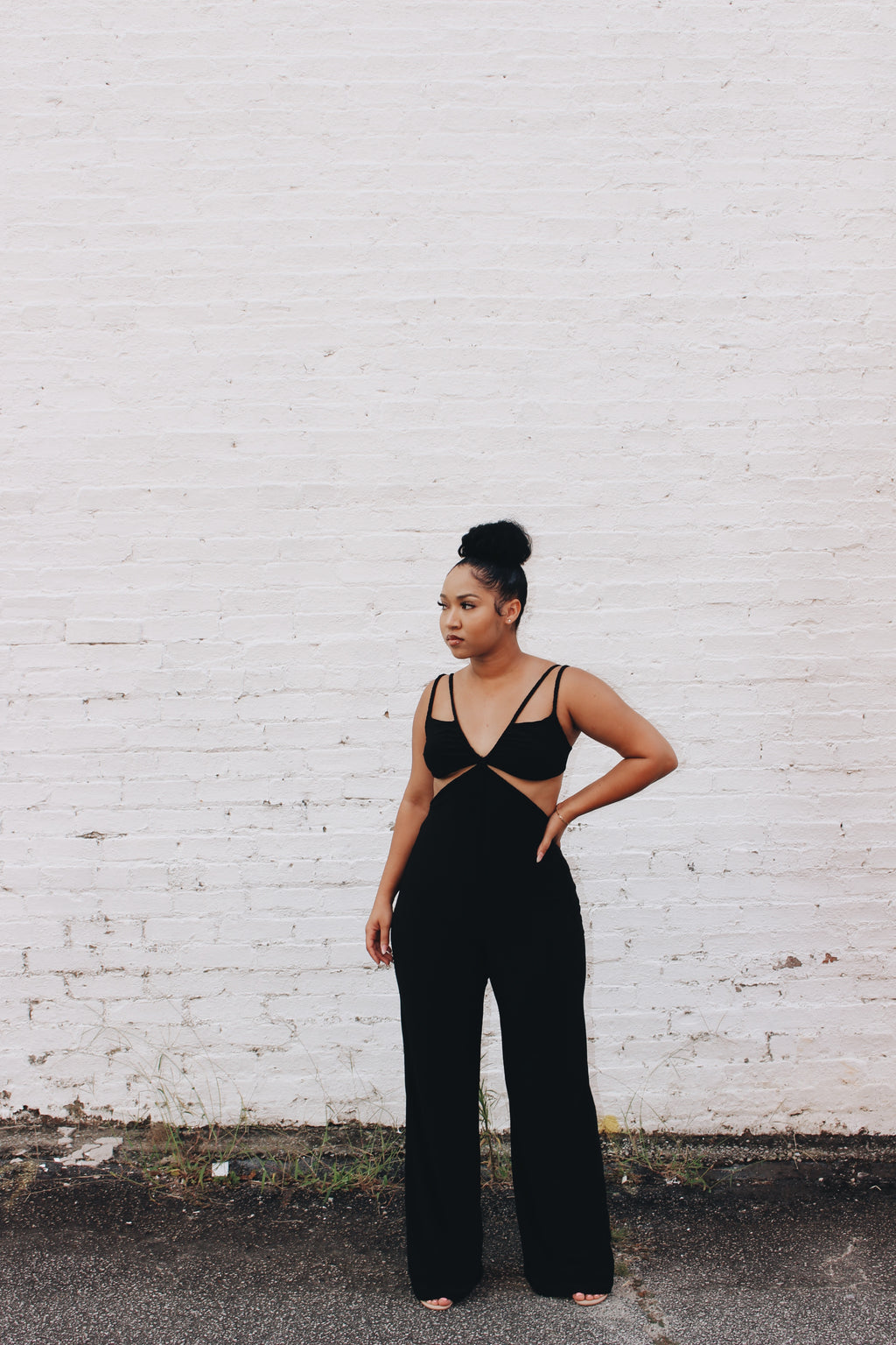 Onyx | Strappy Jumper