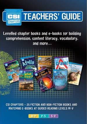 CSI Chapters Teachers' Guide