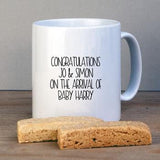 New Parent Personalised Mug For New Baby - Afewhometruths