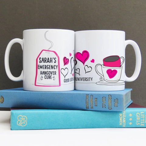 University Congratulations Personalised Mug - Afewhometruths
