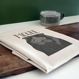 Personalised Cat Tea Towel Gift
