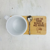 Personalised Primary School Teacher Coaster