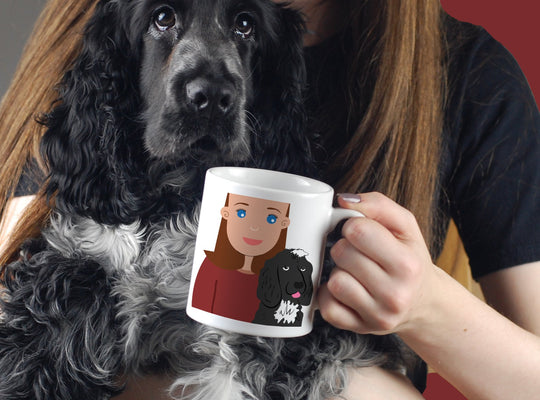 Personalised Dog Mum Gift Mug - Afewhometruths
