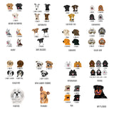 Personalized Dog Multi-Choice Breed Pocket Notebook