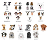 Personalized Smelly Dog Babygrow - Pre-drawn or Photo upload