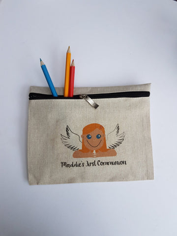 Holy Communion Angel Pencil Case - Afewhometruths