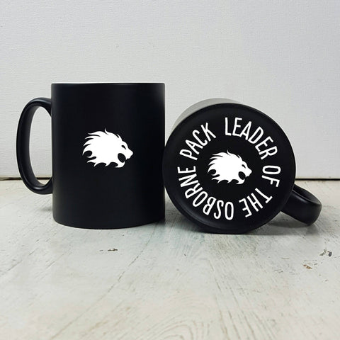Carved Lion Mug - Afewhometruths