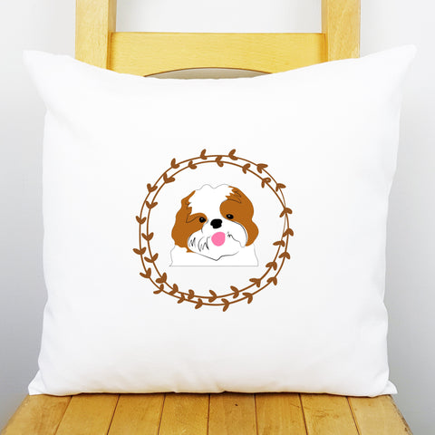 Shih Tzu Personalised Cushion Cover - Afewhometruths