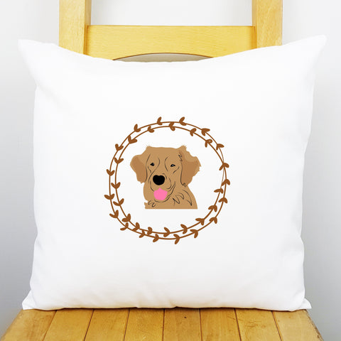 Golden Retriever Personalised Cushion Cover - Afewhometruths
