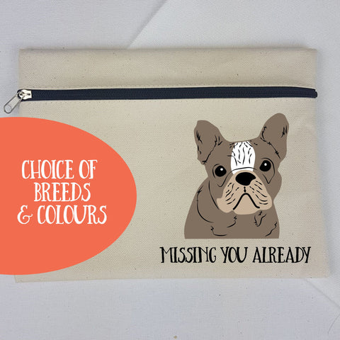 Personalised Dog Travel Passport Wallet - Pre-drawn or Photo upload - Afewhometruths