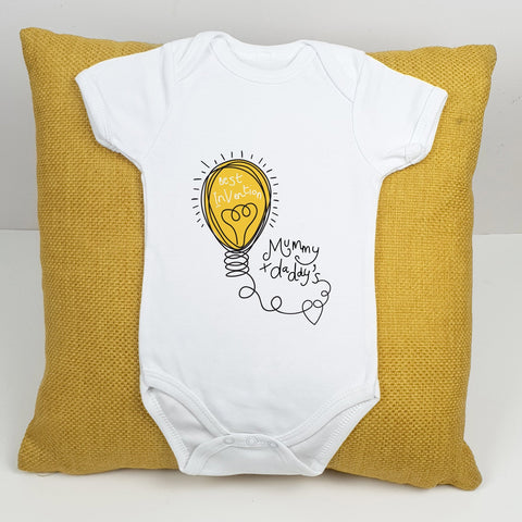 Personalised Best Invention Babygrow - Afewhometruths