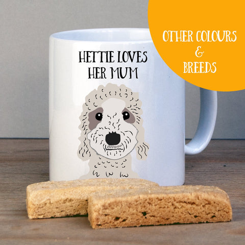 Personalised Bedlington Terrier Gift Mug - Afewhometruths