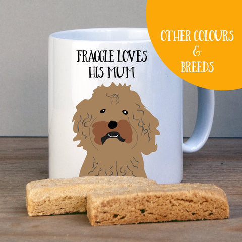 Personalised Cockapoo Gift Mug - Afewhometruths