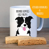 Personalised Border Collie Gift Mug - Afewhometruths