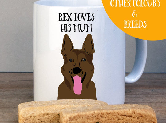 Personalised German shepherd Gift Mug - Afewhometruths