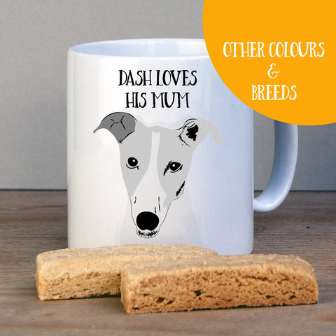 Personalised Greyhound Gift Mug - Afewhometruths
