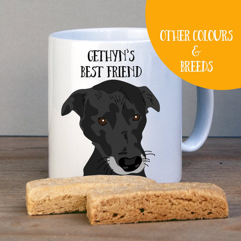 Personalised Border Collie Labrador Cross Gift Mug - Afewhometruths