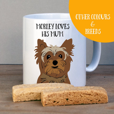 Personalised Yorkshire Terrier Gift Mug - Afewhometruths