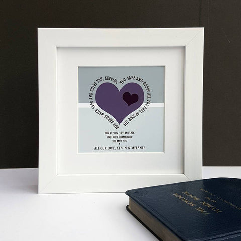 First Holy Communion Personalised Verse Print - Afewhometruths