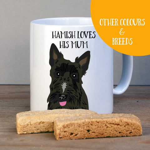 Personalised Scottish Terrier - Scottie - Gift Mug - Afewhometruths