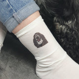 Personalised Funny Dog Socks (Women Size 5-9)