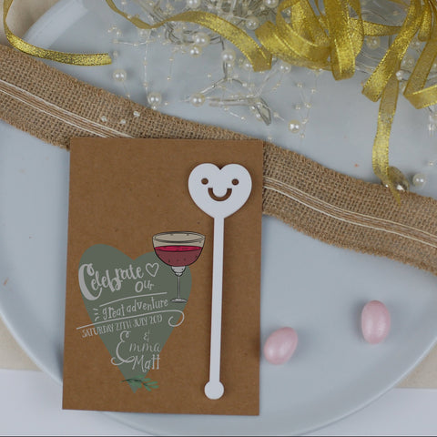 Rustic Adventure Wedding Favours Cards - Afewhometruths
