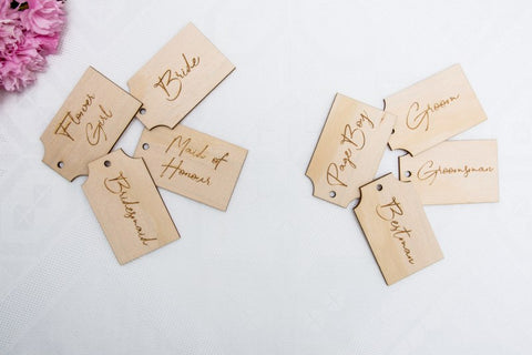 Bridal Party Tag Individual