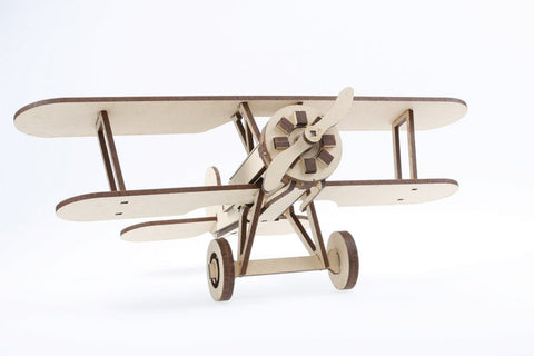 Bristol Bulldog F2B Plane DIY Kit