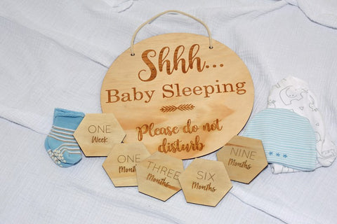 Baby Sleeping Sign