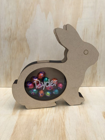 Easter Bunny Egg Drop Money Box