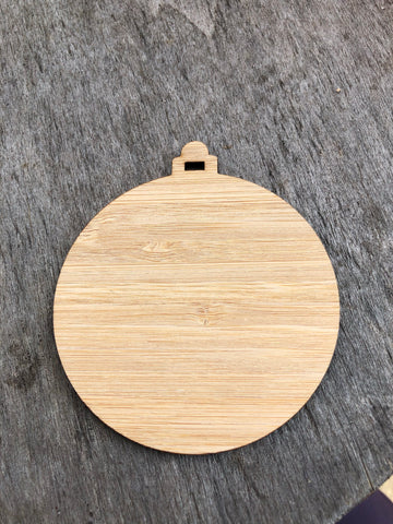 Bauble blanks 10 pack