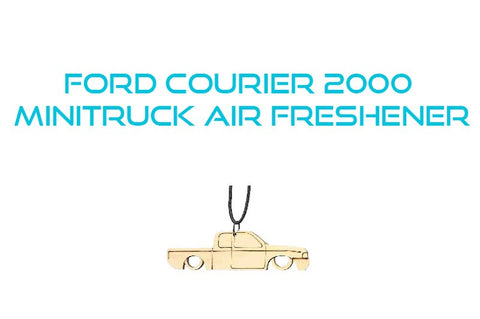 Ford Courier 00 Minitruck Air Freshener