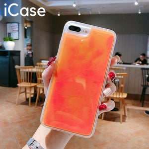 iCase Dynamic Noctilucent Quicksand iPhone Case [Free Shipping]