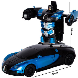 GES: Ultra-Sensing Transformed Robot Car