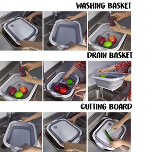3-in-1: Foldable Cutting Board