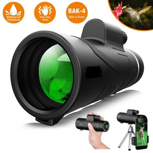 5ZOOM 2.0 - High Power Prism Monocular Telescope (40X60 - upgraded 2019)
