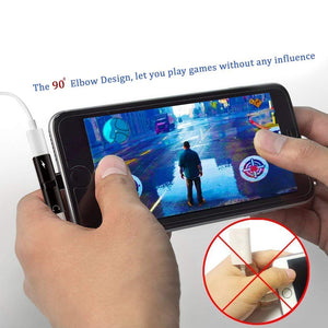 2-in-1 Dual Lightning Splitter for iPhone/iPad