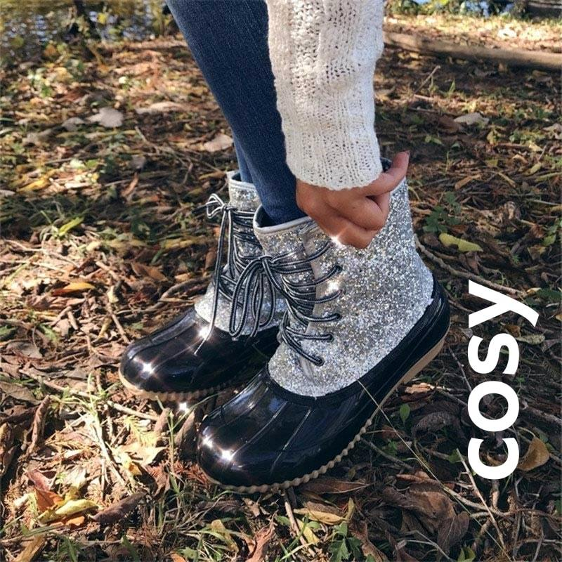 COSY Winter Warm Waterproof Snow Duck Boot