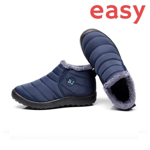 EASY Winter Warm Waterproof Snow Ankle Boot