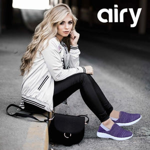 AIRY Ultra-Light Breathable Mesh Casual Walking Sneaker