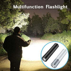Powerfull LED Flashlight And Backup Battery