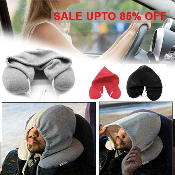 2 IN 1 - Personal Hoodie Pillow