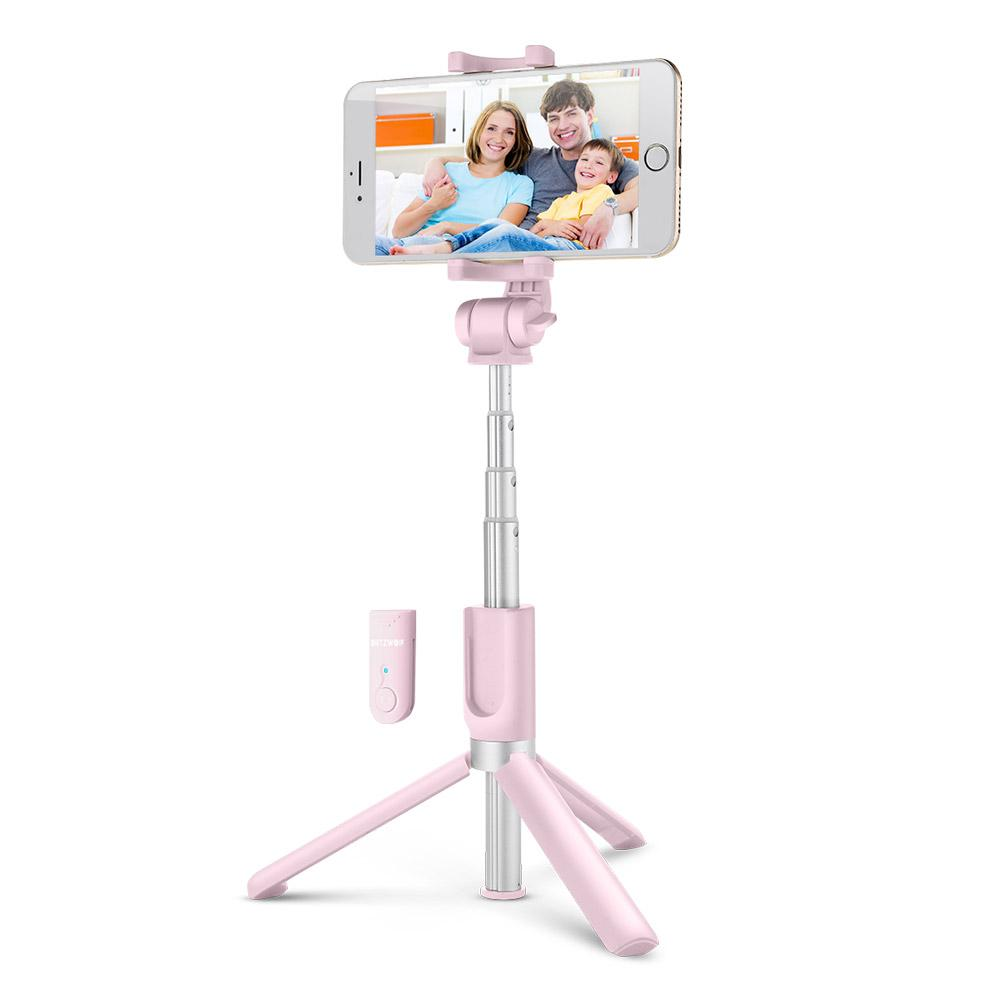 BLITZ: 4 in 1 Wireless Bluetooth Selfie Stick