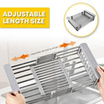 Adjustable Kitchen Dish Drying Rack