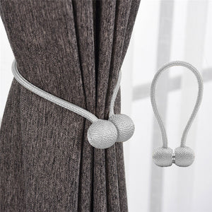 Magnetic Buckle Curtain Tieback [Set of 2 pcs]