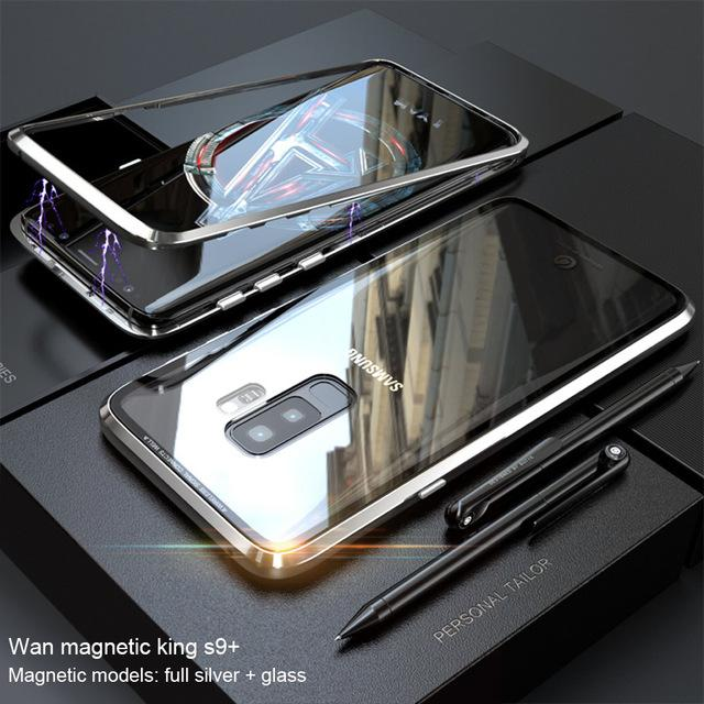 MAGS - Magnetic Adsorption Flip Phone Case for Samsung Galaxy