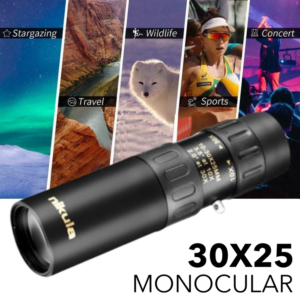 NIKULA 30X25 High Powered Pocket Monocular