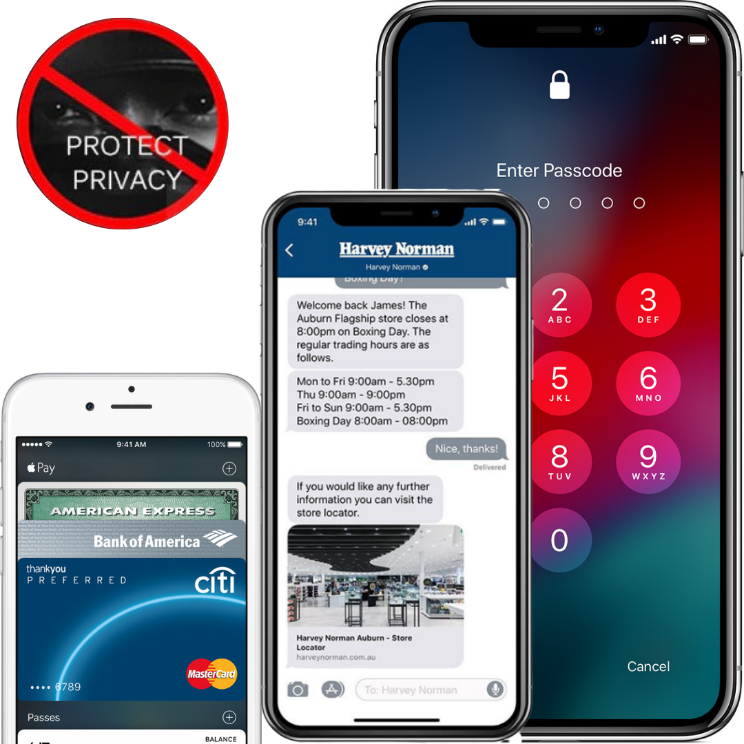 iSec - Privacy Screen Protector for iPhone