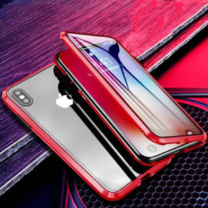 MAG - HIGH Luxury Magnetic Adsorption Metal Case for iPhone ( Free Shipping Combo)
